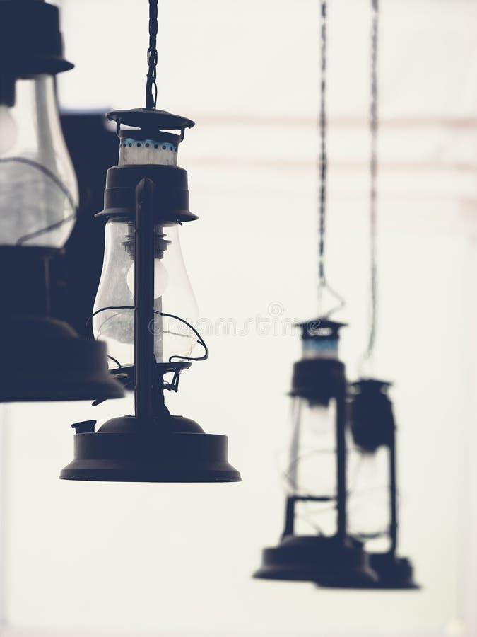 Retro lampada elettrica fotografia stock libera da diritti