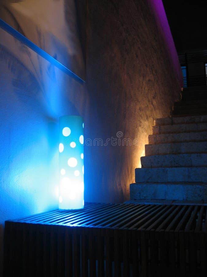 Retro- Lampe stockfotografie