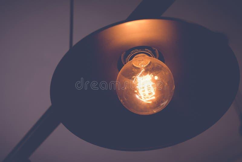 Retro lampy na suficie zdjęcia royalty free