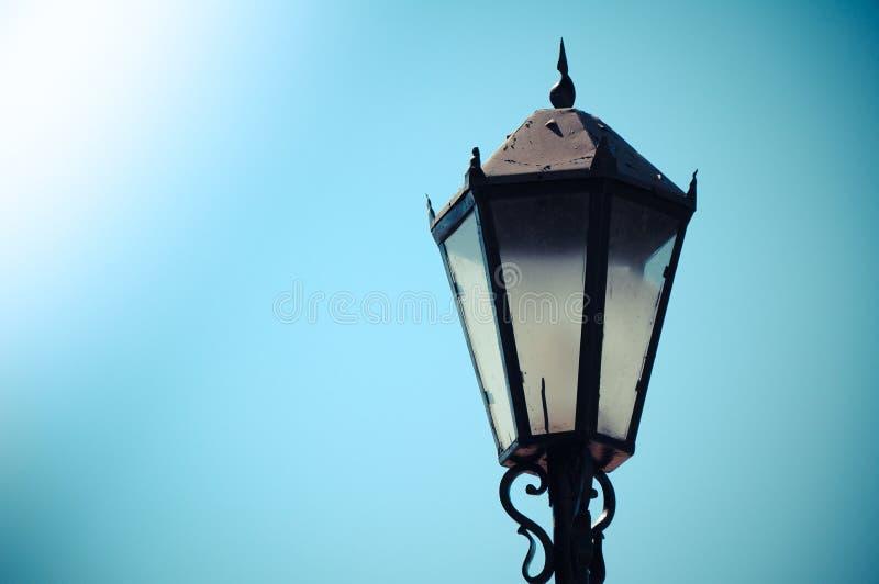 Retro lantern stock photos