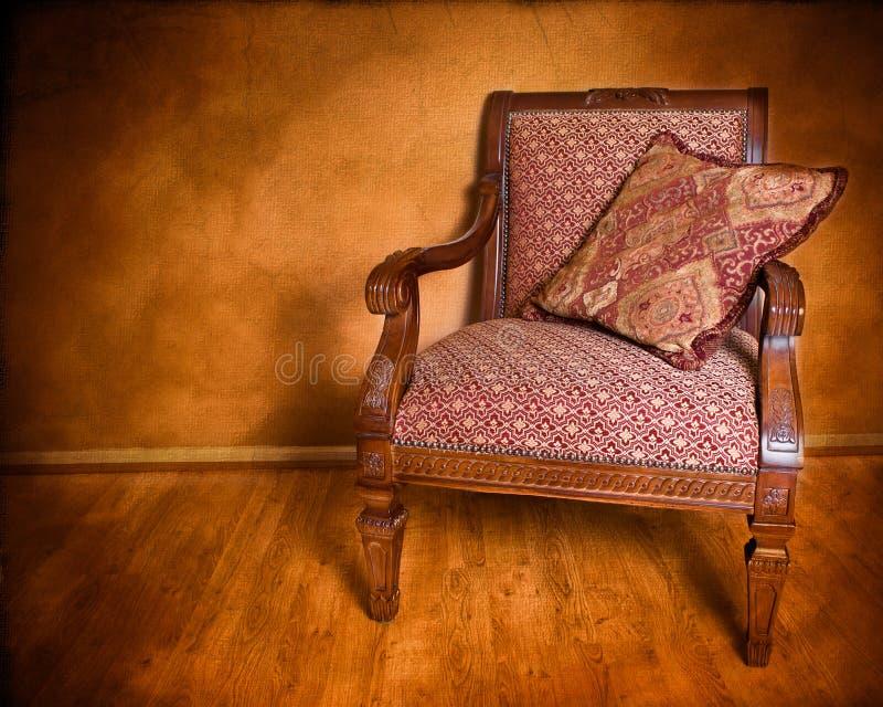 Retro Leunstoel van de Stijl royalty-vrije stock fotografie