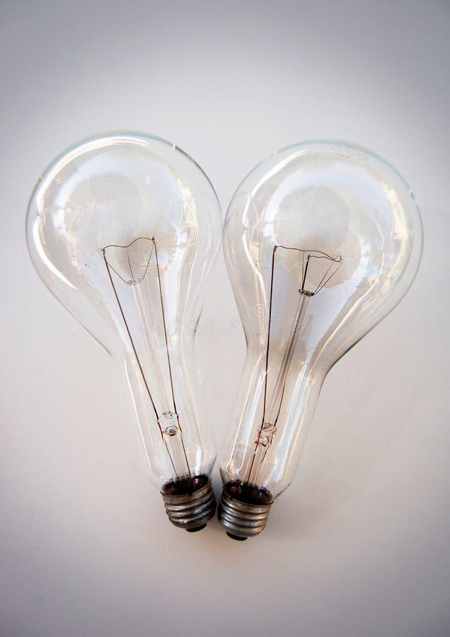 Retro lightbulbs stock foto's