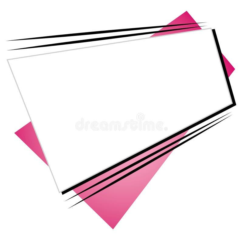 Retro logo 2 del sito Web di forme fotografia stock libera da diritti