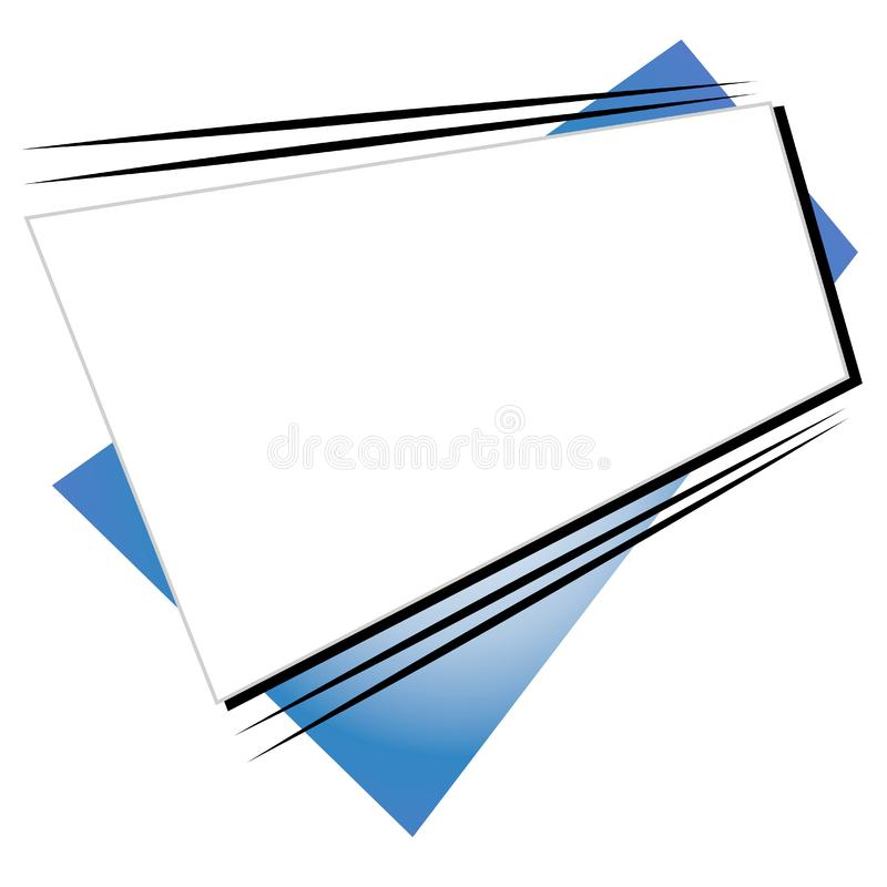 Retro logo 3 del sito Web di forme immagine stock libera da diritti