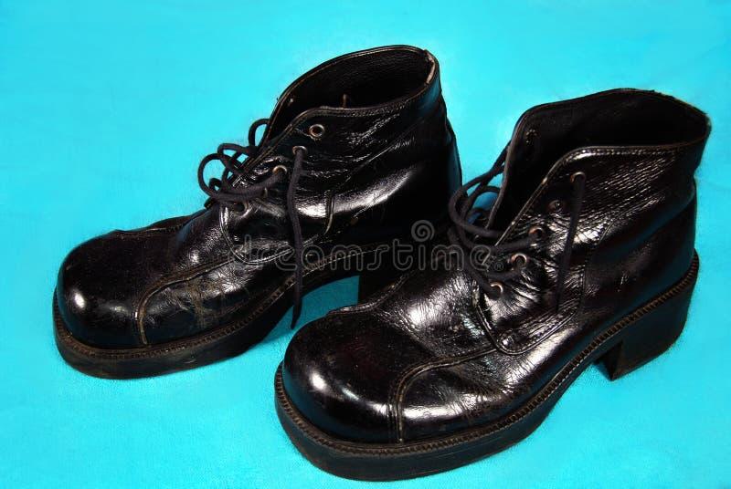 Download Retro mężczyzna buty s zdjęcie stock. Obraz złożonej z skóra - 13340978