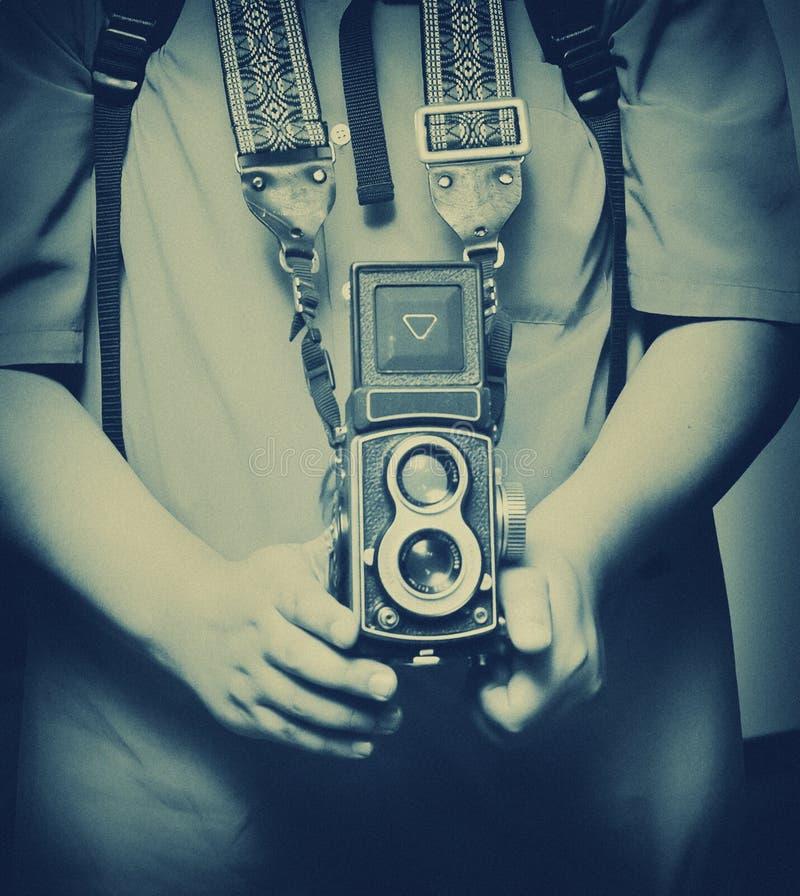 Retro macchina fotografica