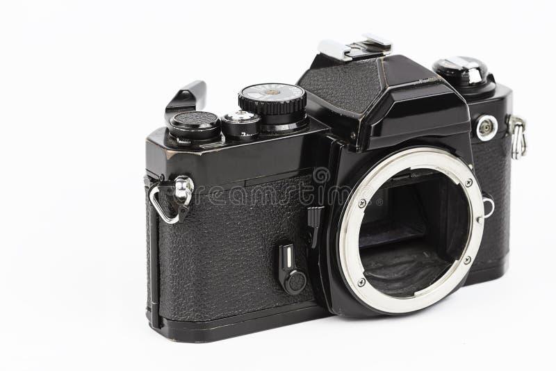 Retro macchina fotografica. fotografia stock