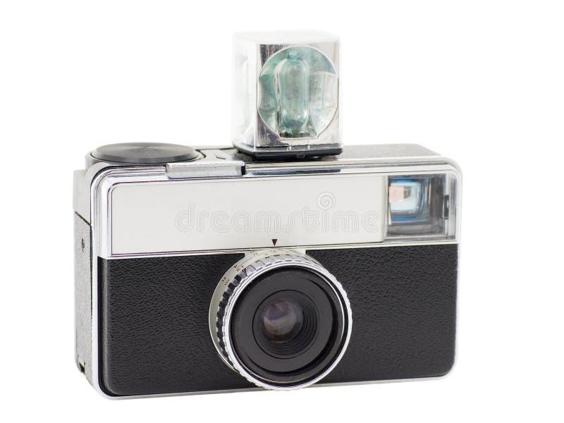 Retro macchina fotografica compatta immagine stock libera da diritti