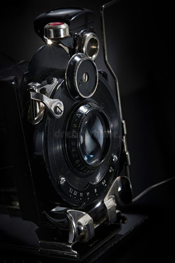 Retro macchina fotografica del film fotografia stock libera da diritti