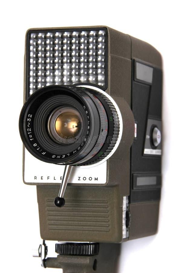 Retro macchina fotografica di film immagini stock libere da diritti