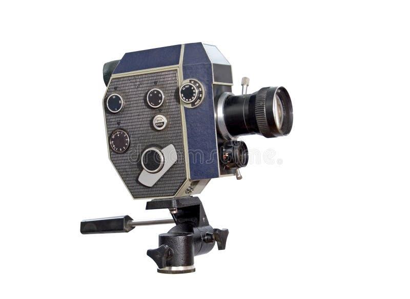 Retro macchina fotografica di film 8mm 16mm fotografia stock