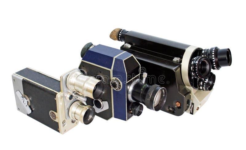 Retro macchina fotografica di film 8mm 16mm fotografia stock libera da diritti
