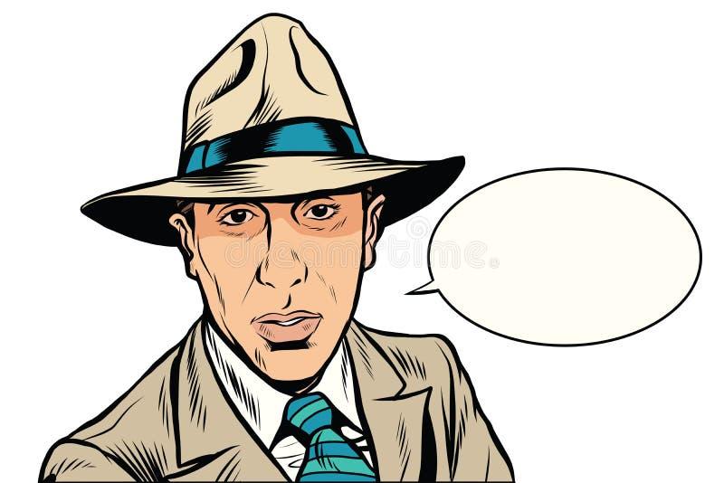 Retro mafia pop art vector vector illustration