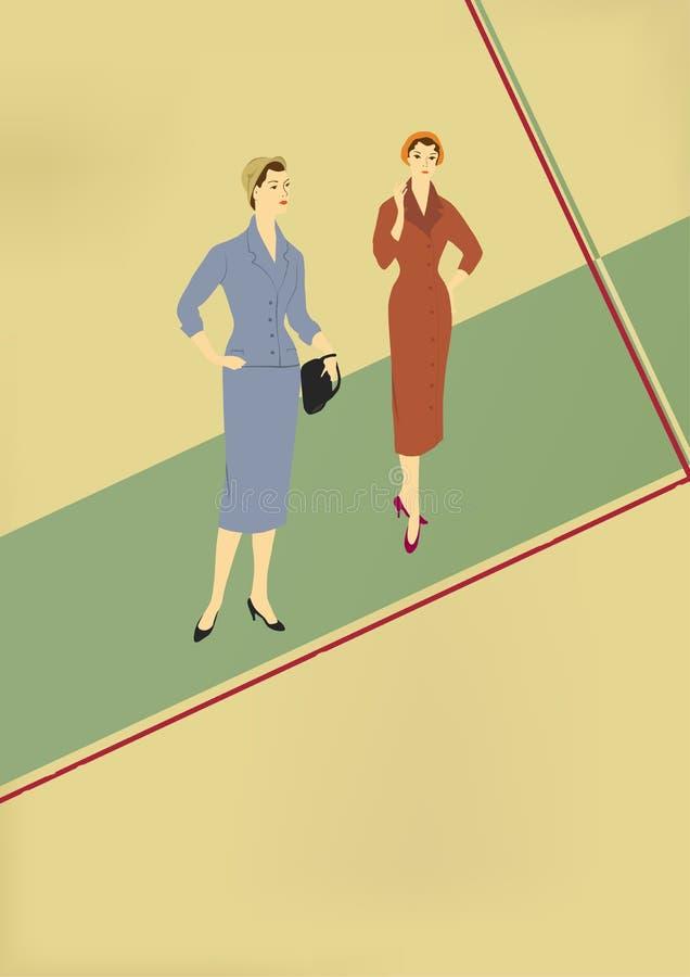 Download Retro manier vector illustratie. Illustratie bestaande uit textiel - 29507016