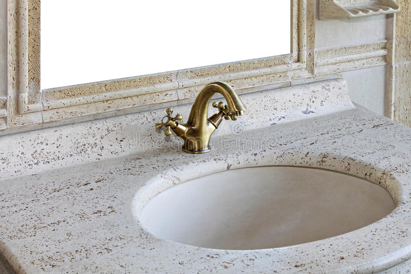 Download Retro marble sink stock photo. Image of sink, vintage - 23749518
