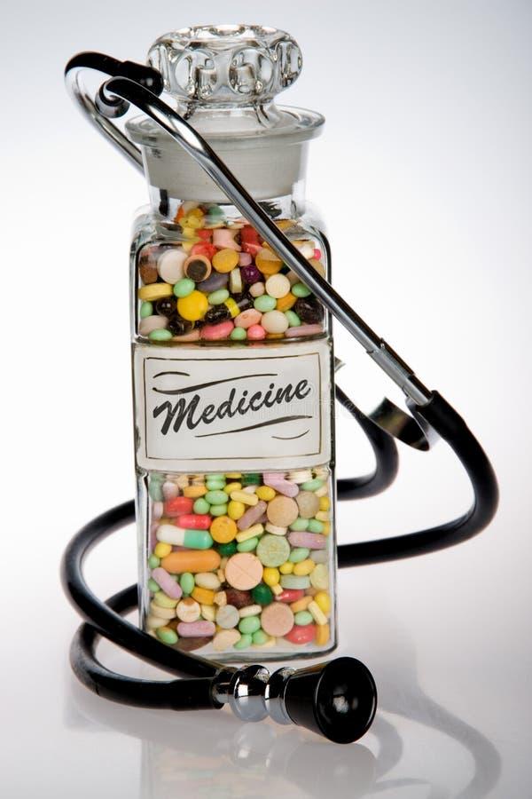 Retro medicina fotografia stock