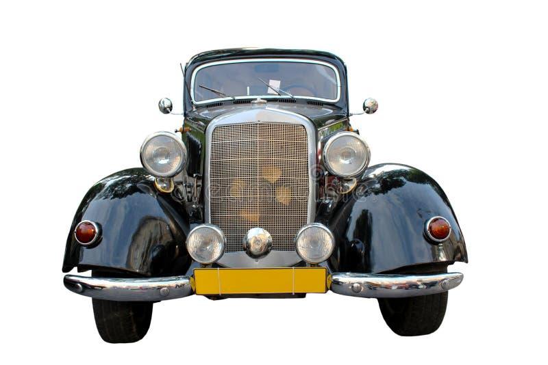 Retro- Mercedes lizenzfreie stockfotos