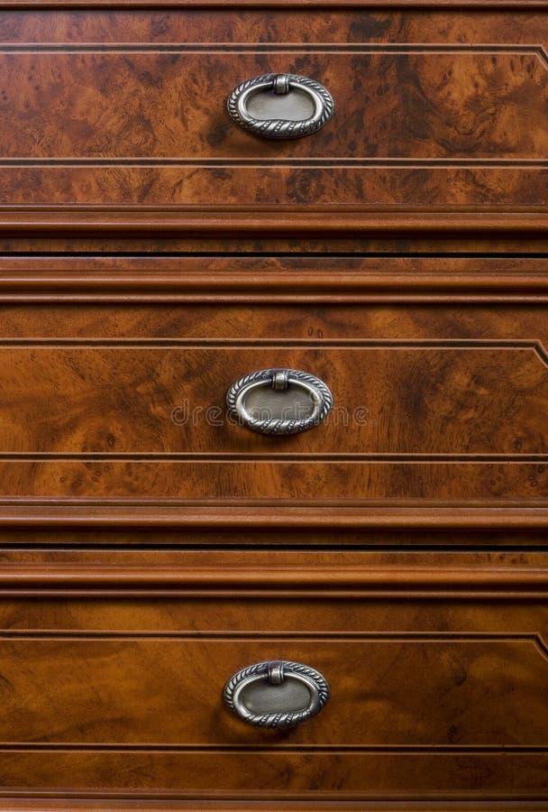 Retro meubilair royalty-vrije stock foto