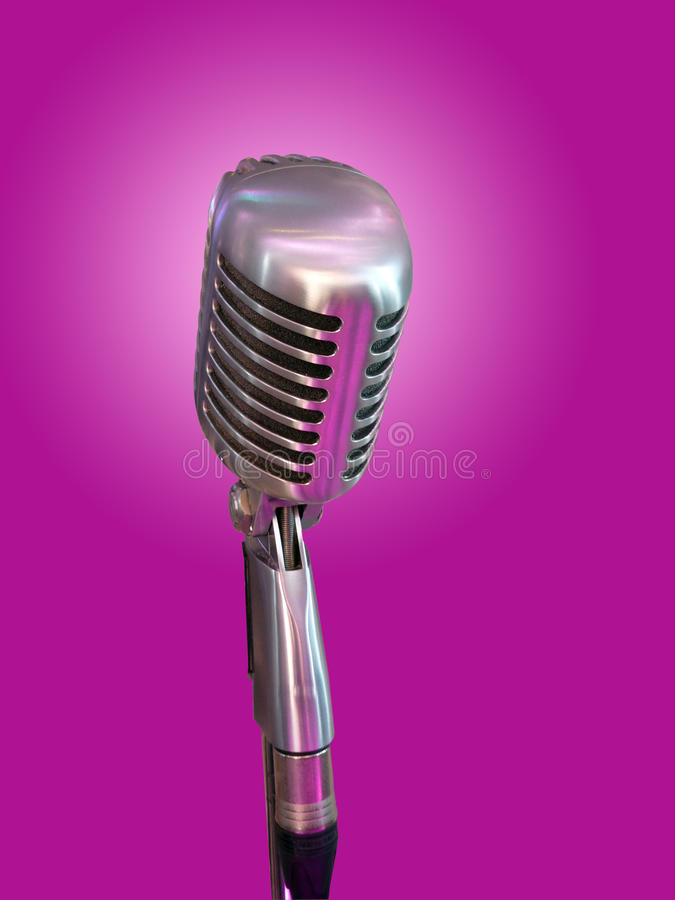 Download Retro Microphone Royalty Free Stock Images - Image: 28885299