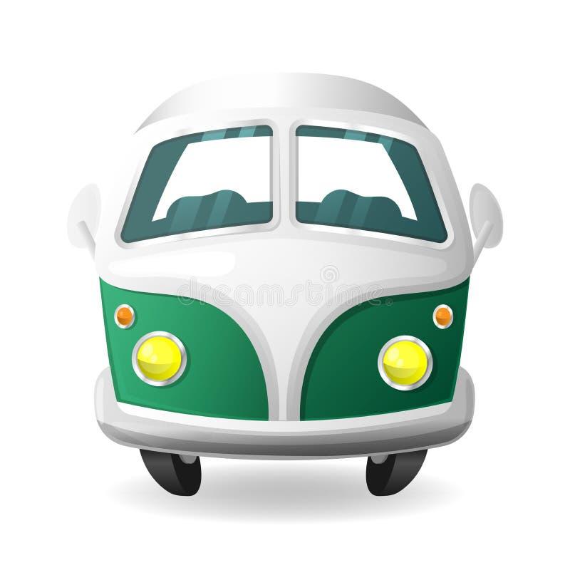 Small Retro Trip Car Stock Illustration Illustration Of
