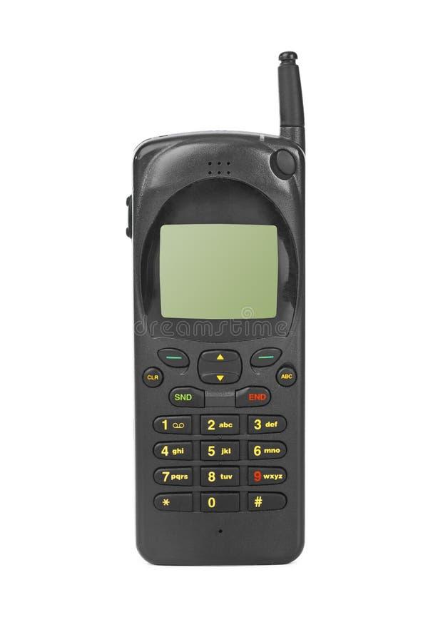 retro mobil telefon royaltyfri bild