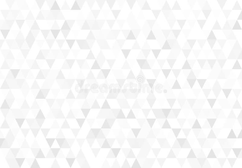 Retro modello astratto delle forme geometriche Contesto del mosaico di pendenza Fondo triangolare dei pantaloni a vita bassa geom royalty illustrazione gratis