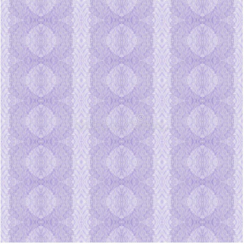Retro modello ovale regolare con le bande in tonalità porpora pastelli, decorato e delicato illustrazione vettoriale
