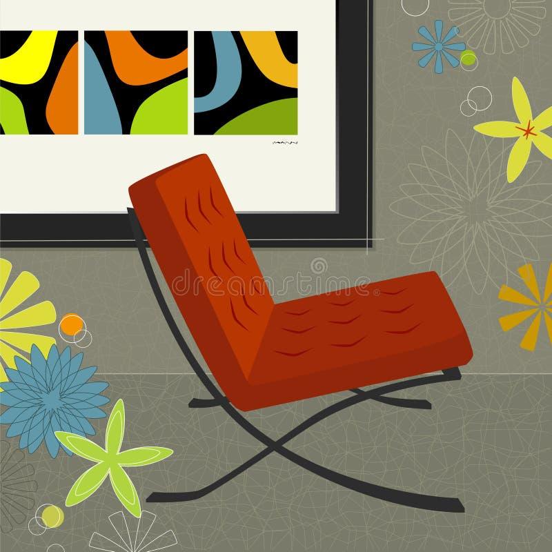 Retro-modern Art. vector illustratie