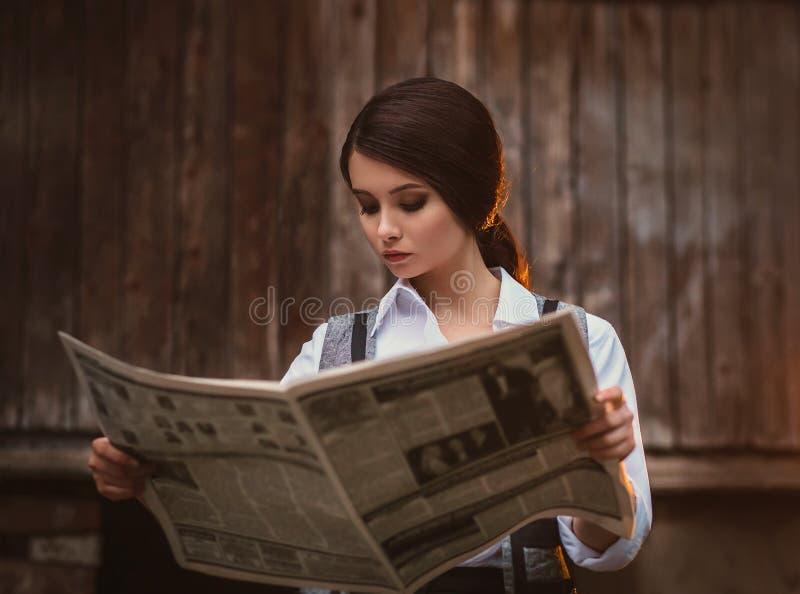retro mody dziewczyna zdjęcia royalty free