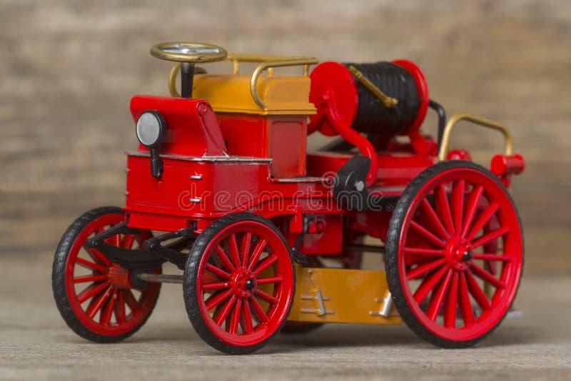 Retro Motor van de Brand royalty-vrije stock afbeelding