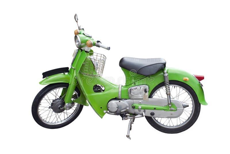 Retro motorcycle royalty free stock photos