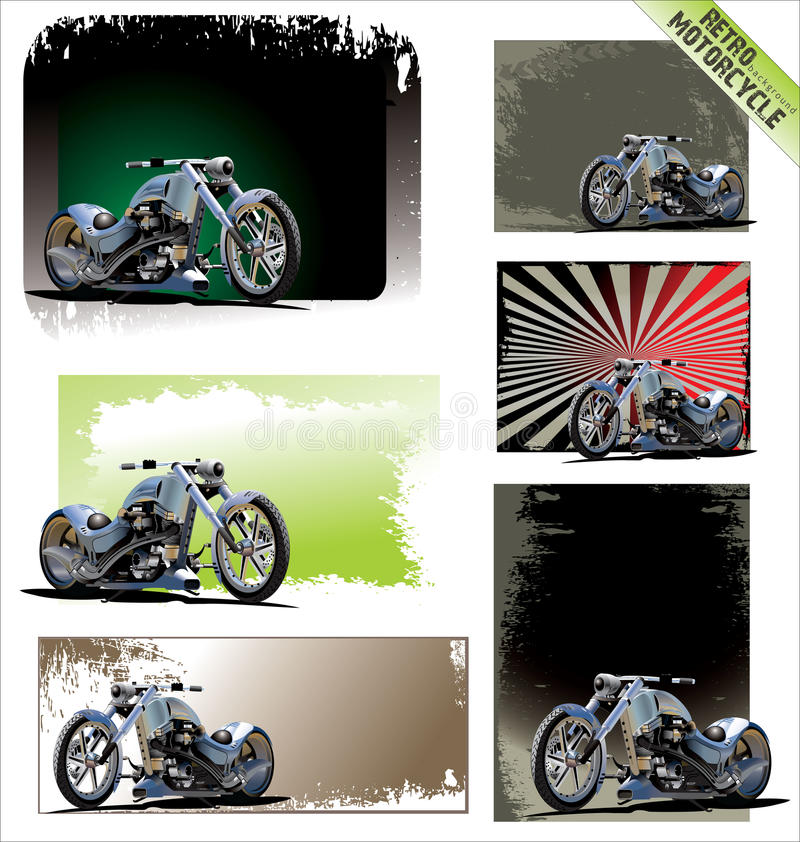 Free Retro Motorcycle Royalty Free Stock Images - 24826929