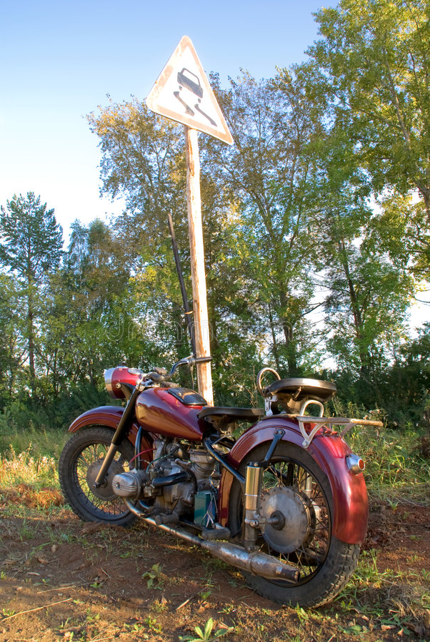 Free Retro Motorcycle Stock Images - 3202034