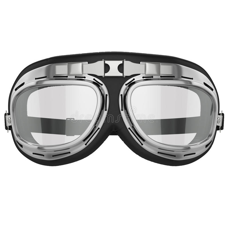Download Retro Motorcycle Goggles Stock Illustration Of Aged