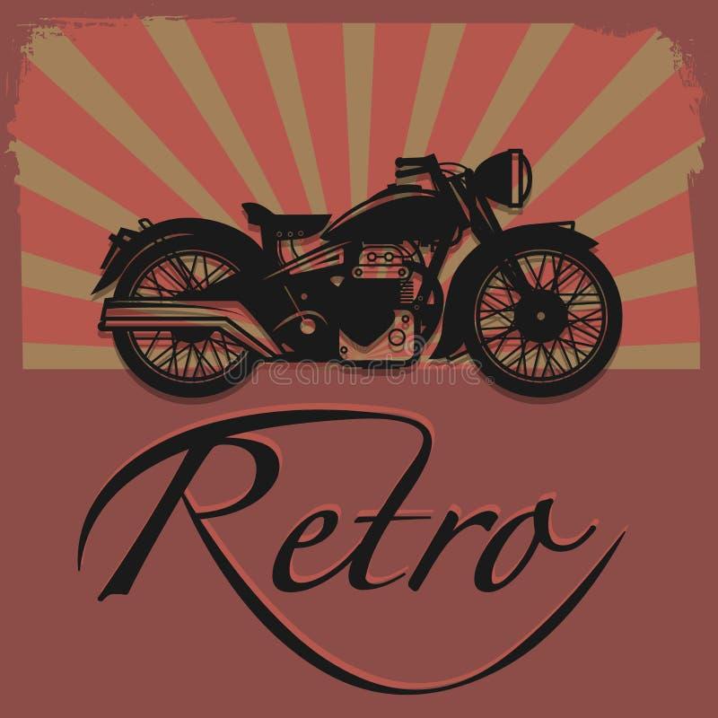 Free Retro Motorcycle Label Royalty Free Stock Photos - 37178808