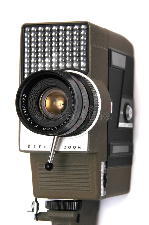 Retro Movie Camera royalty free stock images