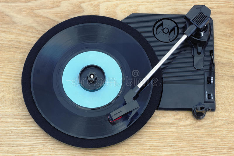Retro music from old vinyl royalty free stock images