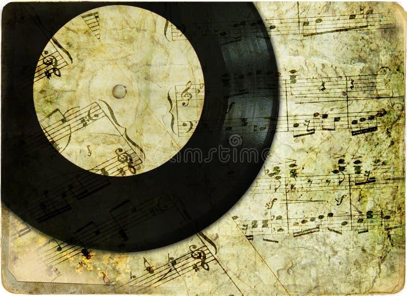 Retro musica fotografie stock libere da diritti