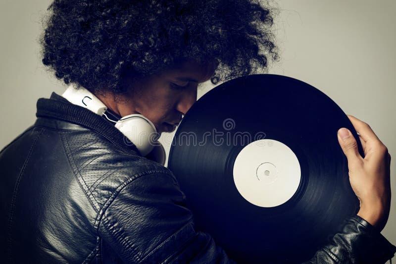 Retro musik royaltyfri fotografi