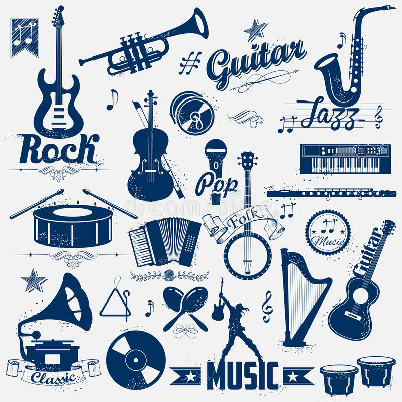 Retro musiketikett