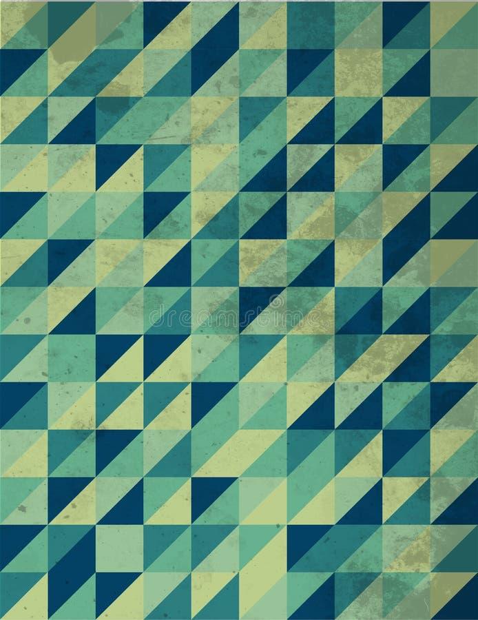 Retro- Muster lizenzfreies stockbild