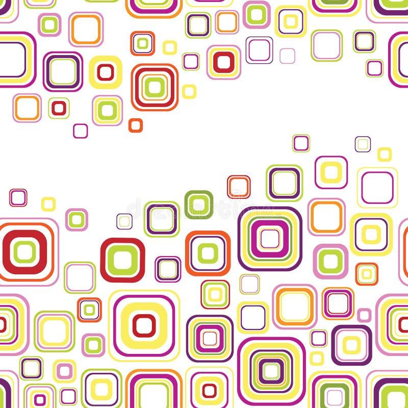 Retro naadloos ornament vector illustratie