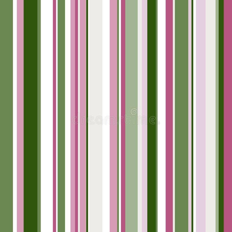 Retro naadloos, patroon met kleurenstrepen stock illustratie