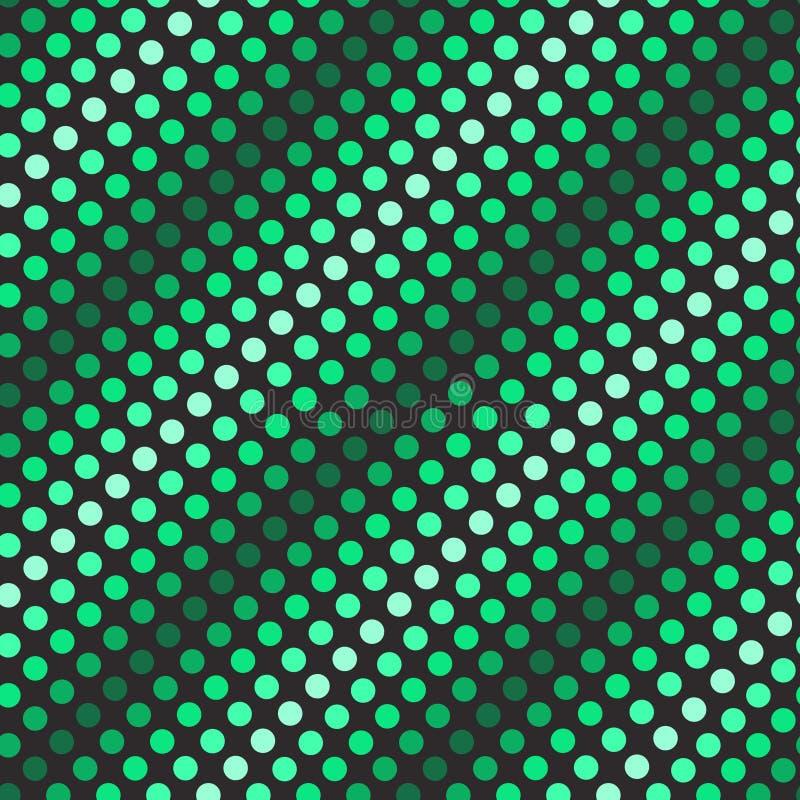 Retro- nahtloses Muster stock abbildung