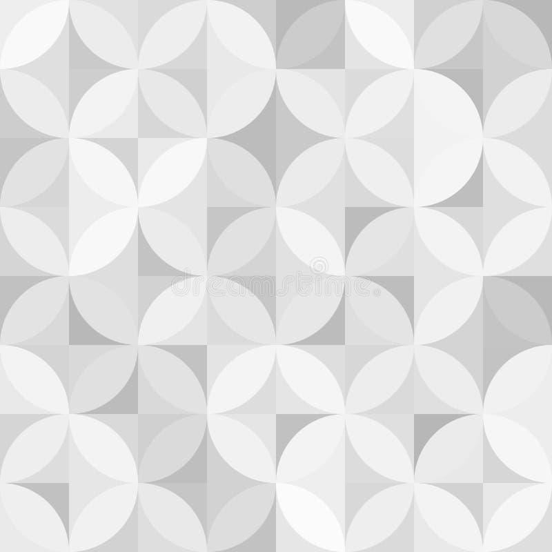 Retro nahtloses Muster der Weinlese vektor abbildung