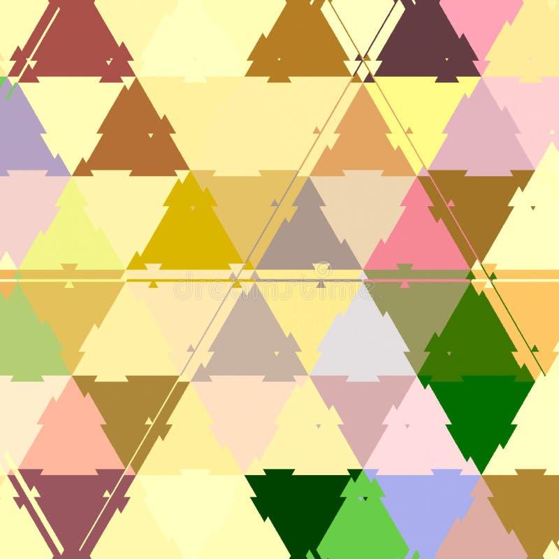 Retro origami pattern. Simple minimalism in continuous mosaic triangles elements. Retro origami pattern. Simple minimalism in continuous mosaic triangles stock images