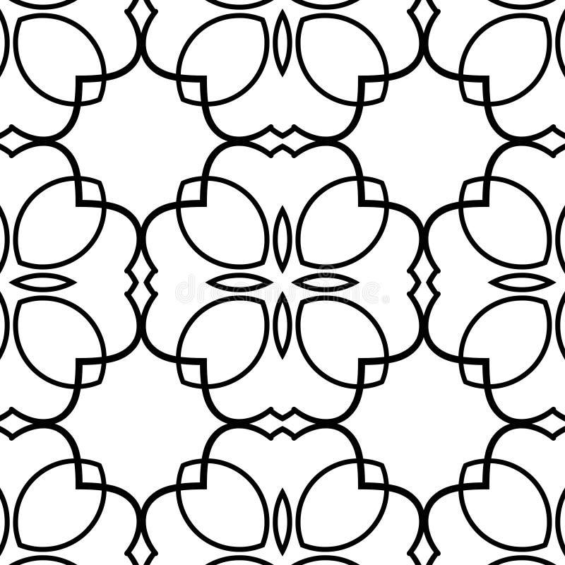 Vintage retro pattern royalty free illustration