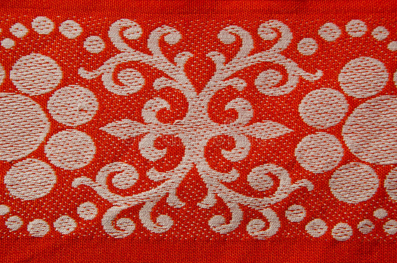 Download Retro And Ornamental Tablecloth Stock Image - Image: 27279217