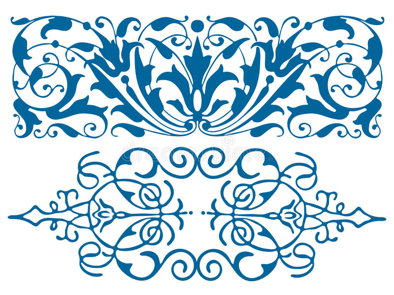 Retro ornamento d'annata royalty illustrazione gratis