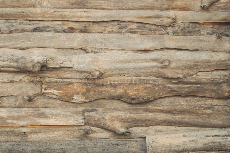 Retro parete di legno fotografia stock